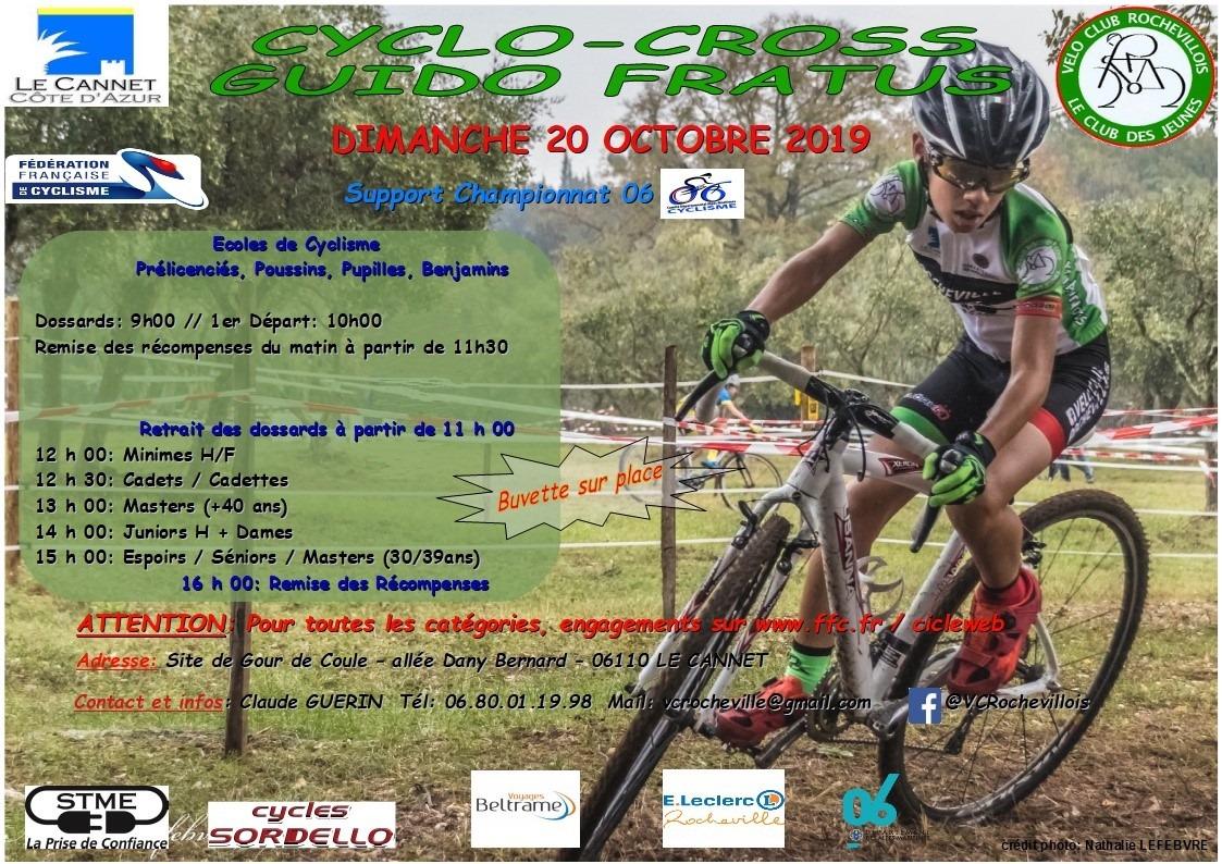 Cyclo Cross Calendrier.Calendrier Octobre Velo Club Le Thor Gadagne